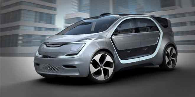 Chrysler Portal — электрический минивэн для миллениалов