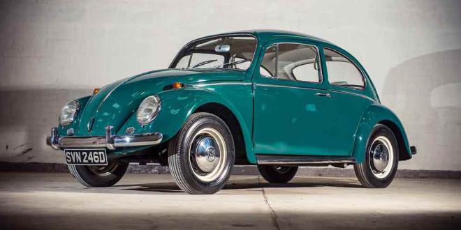 Volkswagen Beetle 1966 года выпуска уйдет с молотка