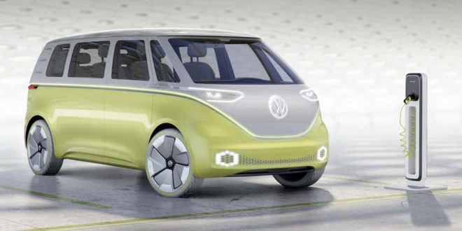 I.D. Buzz Concept: ещё один электрический минивэн Volkswagen