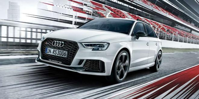 «Заряжённый» хэтчбек Audi RS3 обновился и стал мощнее