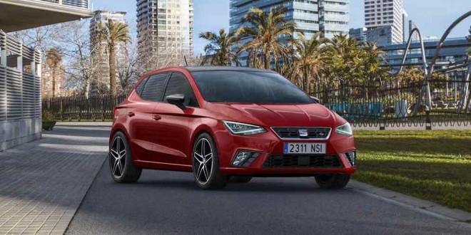Хэтчбек SEAT Ibiza пятого поколения официально