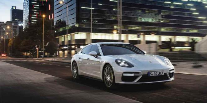 Porsche Panamera Turbo S E-Hybrid: самый быстрый гибрид мира