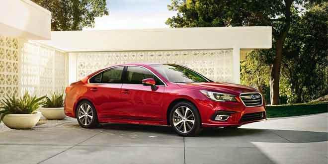 Обновился седан Subaru Legacy