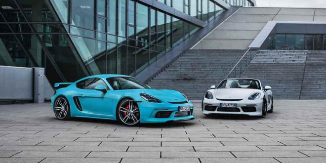 TechArt подготовил тюнинг Porsche 718 Cayman и Boxster