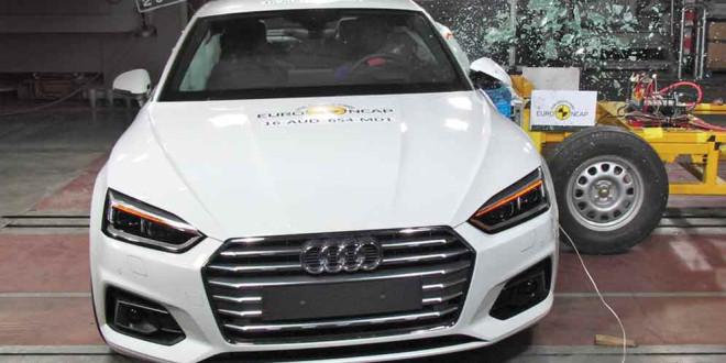 Новая Audi A5 Coupe прошла краш-тест ANCAP на 5 звёзд