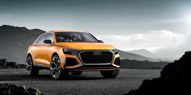 Новый Audi Q8 Sport Concept прибыл в Женеву: попытка #2