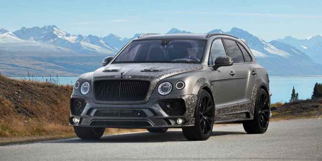 Bentley Bentayga получил карбоновый боди-кит от Mansory