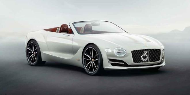 Электрический родстер Bentley EXP 12 Speed 6e EV официально