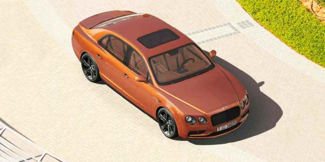 Bentley Flying Spur W12 S на 58-гигапиксельном фото