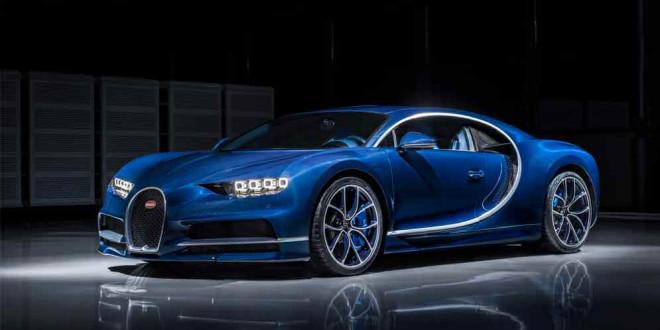 Продана половина всех Bugatti Chiron: 250 из 500