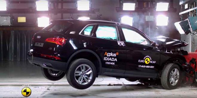 2017 Audi Q5 прошёл краш-тест Euro NCAP на 5 звёзд