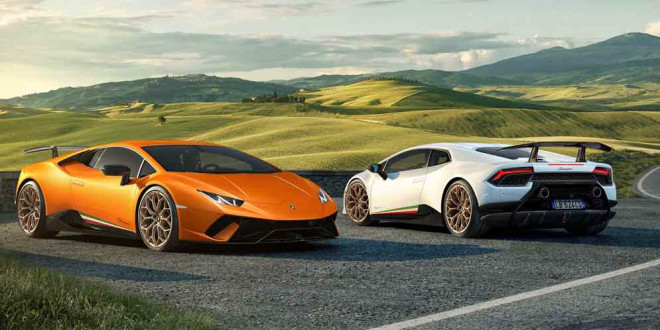 Экстремальный Lamborghini Huracan Performante официально