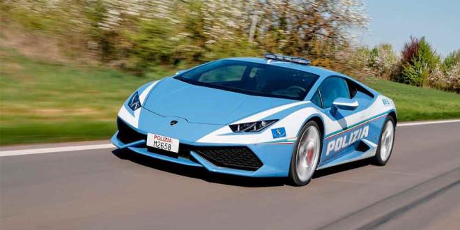 Второй полицейский Lamborghini Huracan уже на службе Италии