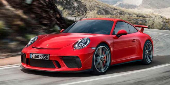 Новая Porsche 911 GT3 официально из Женевы