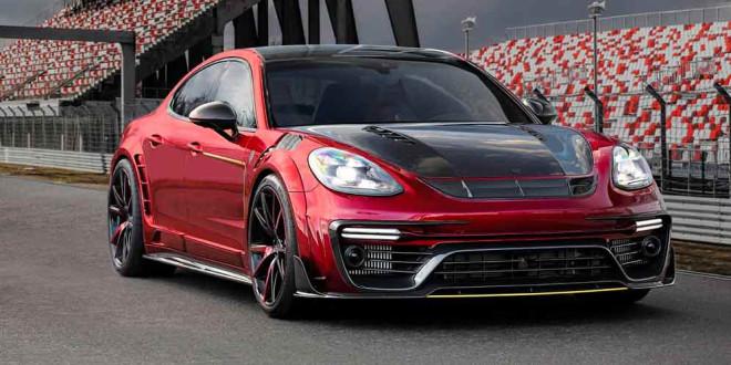Новая Porsche Panamera получила карбоновый тюнинг от Mansory