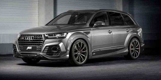 Тюнинг Audi SQ7 от ABT Sportsline: 520-сил и угрожающий вид