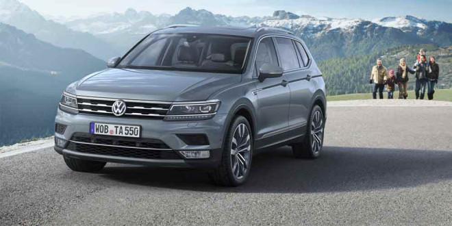 Семиместный VW Tiguan Allspace в Европе с сентября