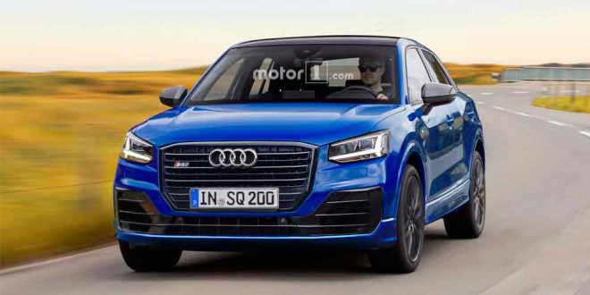 Раскрыт возможный дизайн Audi SQ2 и RS Q2