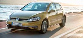 Обновлённый Volkswagen Golf 7 уже в Украине