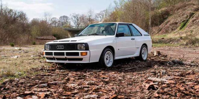 RM Sotheby's даёт шанс купить Audi Sport Quattro 1984 года
