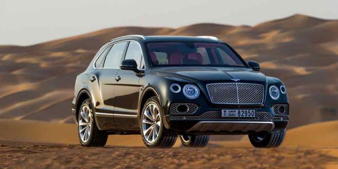 Bentley Bentayga получил соколиные аксессуары от Mulliner