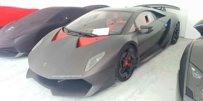 В Дубае продаётся эксклюзивная Lamborghini Sesto Elemento