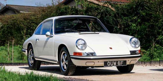 Продают Porsche 911S 1967 года выпуска с пробегом 2 мили