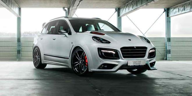 Создан Porsche Cayenne Magnum Sport в честь 30-летия TechArt