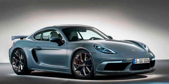 Следующий Porsche Cayman GT4 на неофициальном рендере