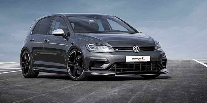 Ателье Oettinger прокачало горячие VW Golf GTI и Golf R