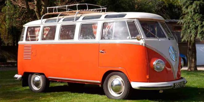 Ретро-кемпер Volkswagen T1 Samba 1959 года ищет новый дом