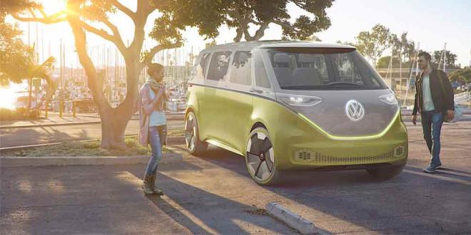 Выпустят серийный VW I.D Buzz: хиппи-бус XXI века ждём в 2022 г.