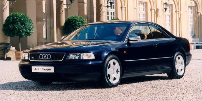 Audi A8 Coupe 1997 года — единственная в истории