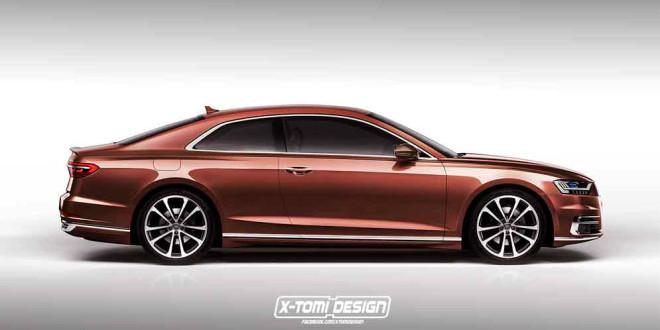 Большое купе из новой Audi A8. Неофициально от X-Tomi Design