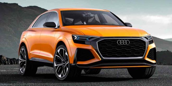 Audi Q8 выйдет в 2019 году