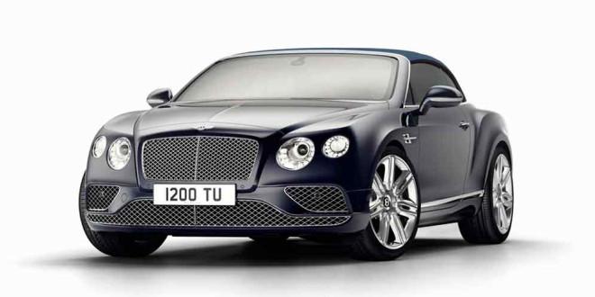 Вышел прощальный Bentley Continental GT Timeless Series