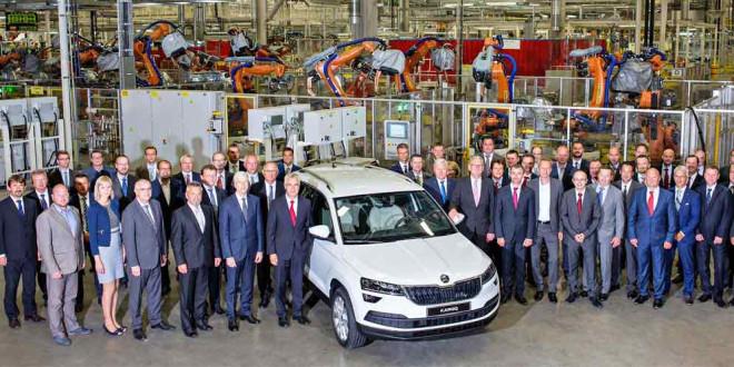Началось производство Skoda Karoq на заводе в Квасинах