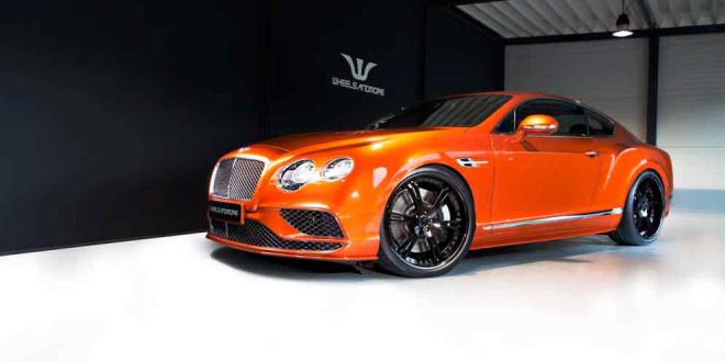 WAM прокачал Bentley Continental GT Speed до 713 л.с.