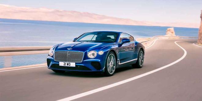 Новый Bentley Continental GT показали официально