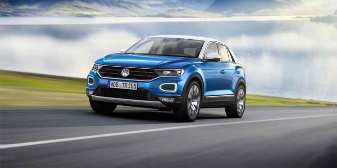 Новый компактный кроссовер Volkswagen T-Roc официально