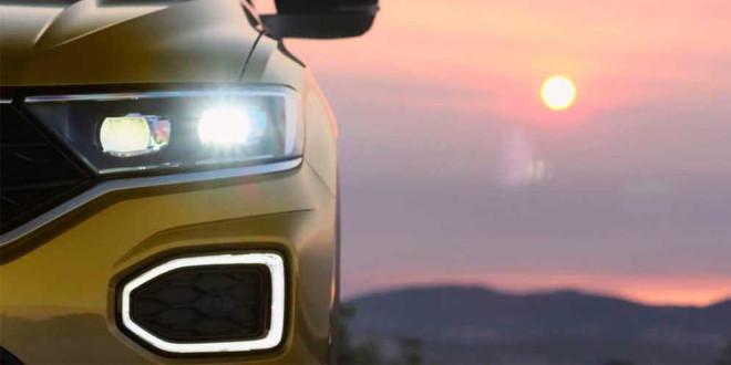 Дизайн Volkswagen T-Roc раскрывают частями на новых тизерах
