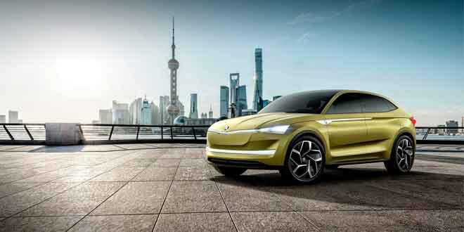 Электрическое портфолио Skoda составят четыре модели