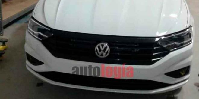 Новая Volkswagen Jetta 2018 на фото без маскировки