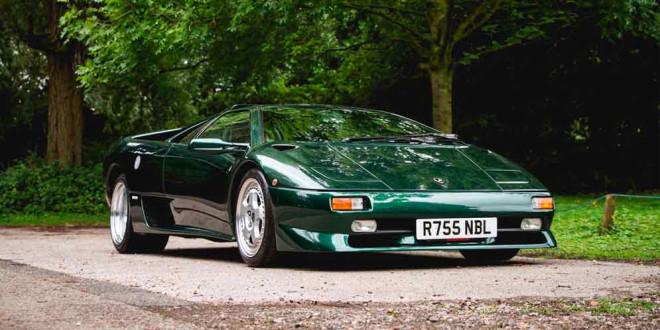 Икона 90-х Lamborghini Diablo SV уйдет с молотка