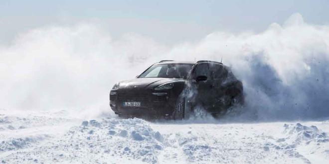 2018 Porsche Cayenne прошел экстрим-тесты на жаре и в холоде