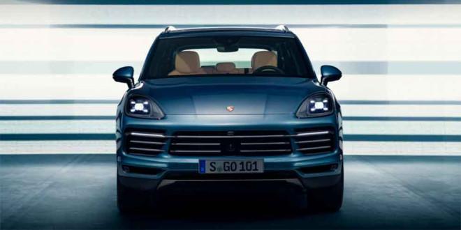 Дизайн нового Porsche Cayenne раскрыт до официального показа