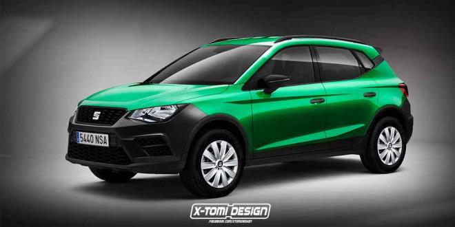 Самый дешевый кроссовер SEAT Arona от X-Tomi Design