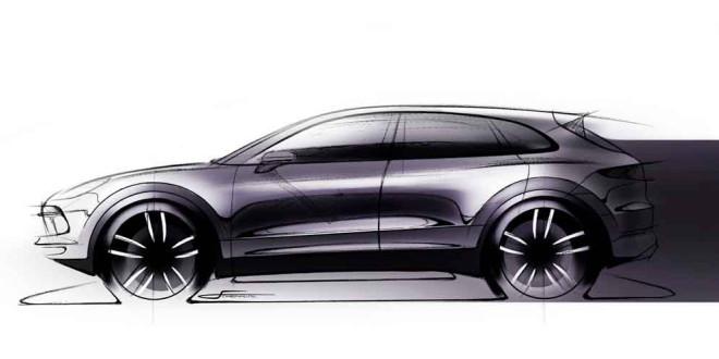 Следующий Porsche Cayenne показался на официальном тизере