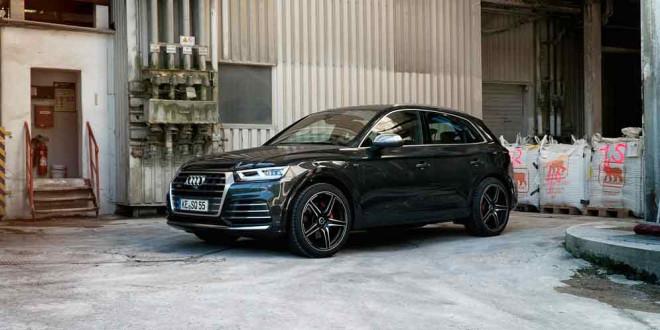 Ателье ABT Sportsline тюнинговало новый Audi SQ5