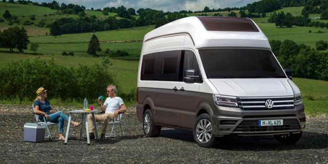 Построен кемпер VW California XXL из нового Crafter-а